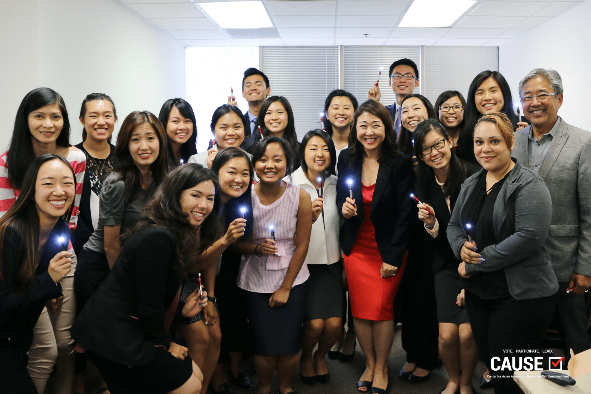 Group photo at the third Civic Leadership Workshop