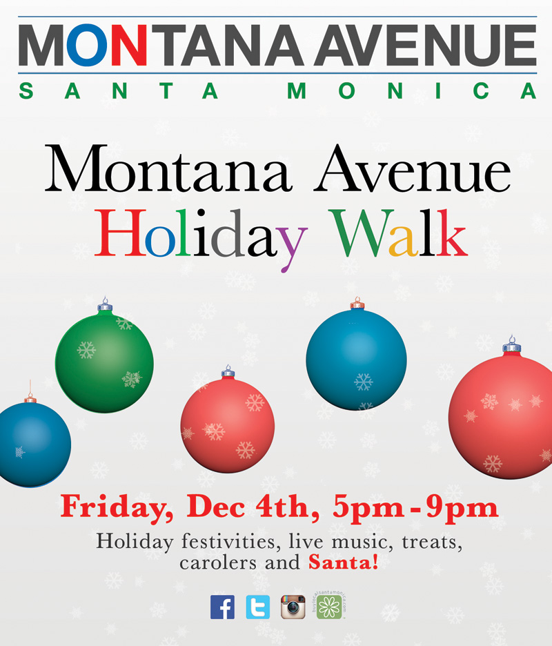 Montana Avenue Holiday Walk