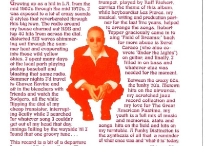 Inside CD Cover