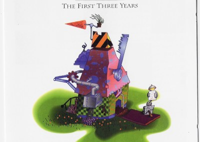 The First Three Years CD Cover