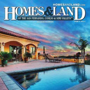 Homes & Land Magazine Cover