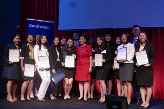 2017 Leadership Academy Class with Judy Chu