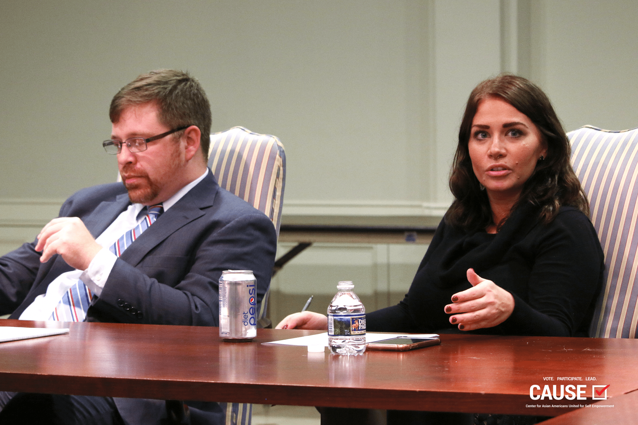 Ken Wiseman and Kayda Keleher
