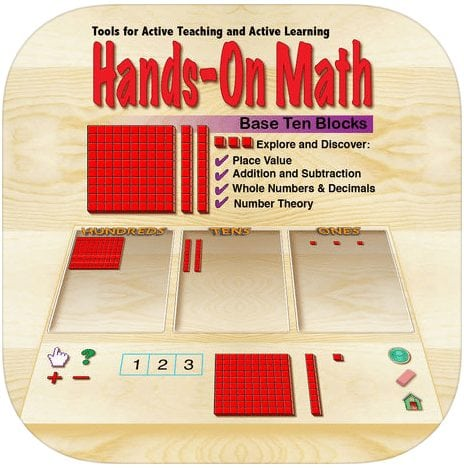Hands-On Math Base Ten Blocks – Down Syndrome Foundation of