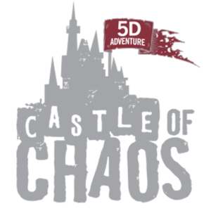 Castle of Chaos logo - Two Locations in Branson, MO and Pigeon Forge, TN