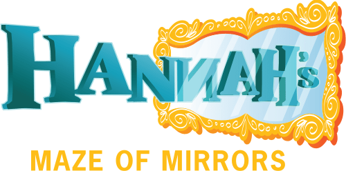 Hannah's Maze of Mirrors logo - Three Locations in Branson, MO; Pigeon Forge, TN and Myrtle Beach, SC.