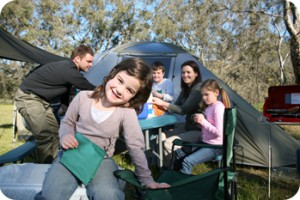 Ventura County family camping trip