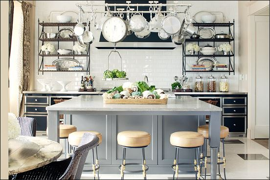Clean kitchen for holiday gatherings