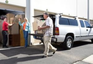 Moving into Hollywood Storage Center of Thousand Oaks