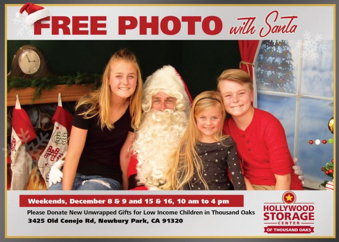 Santa Photos Free Thousand Oaks