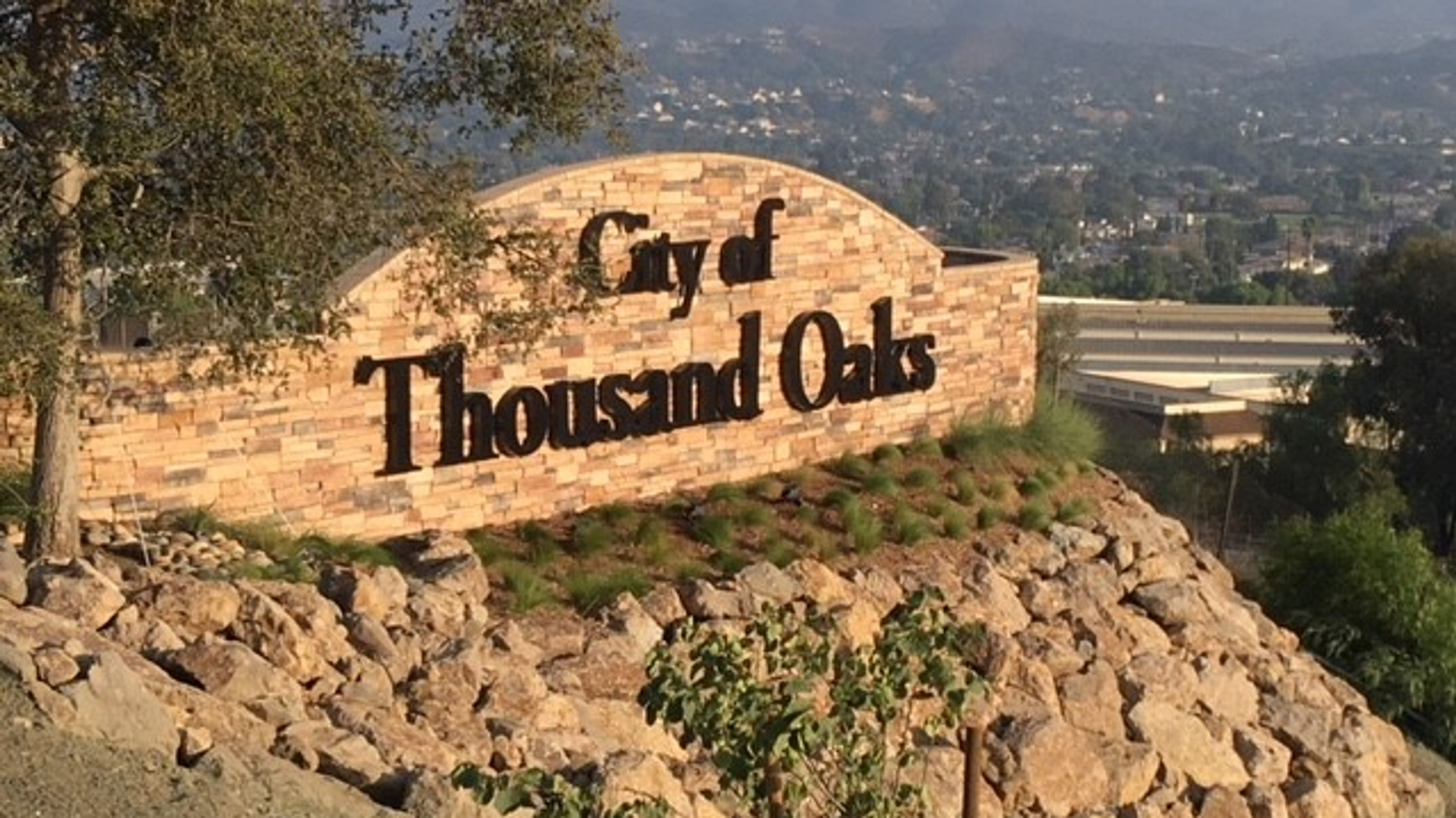 Thousand Oaks Monument Sign