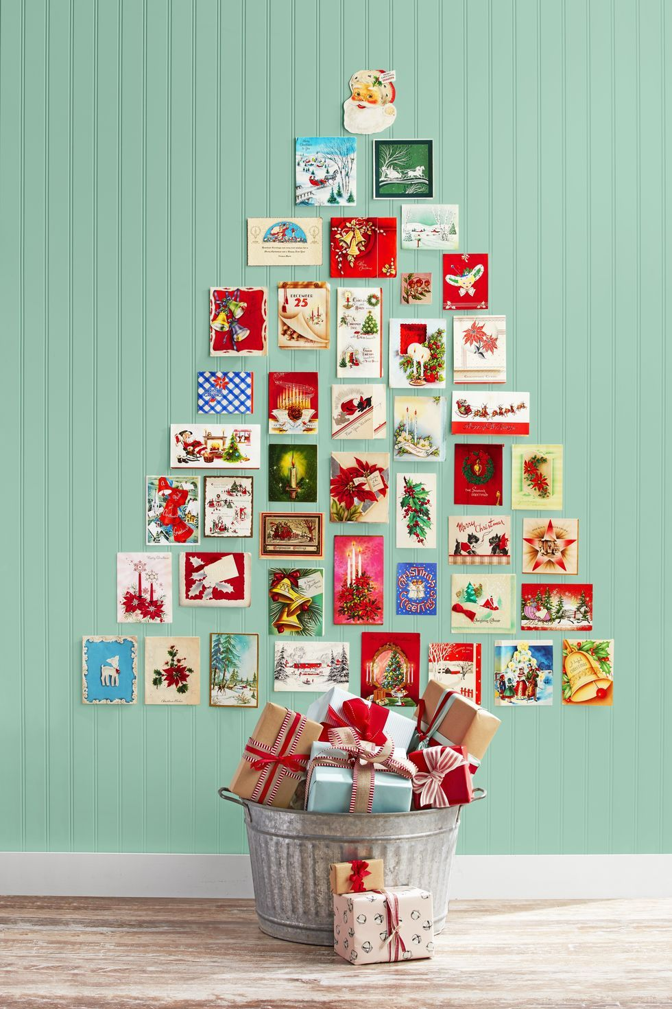 Holiday Card Tree