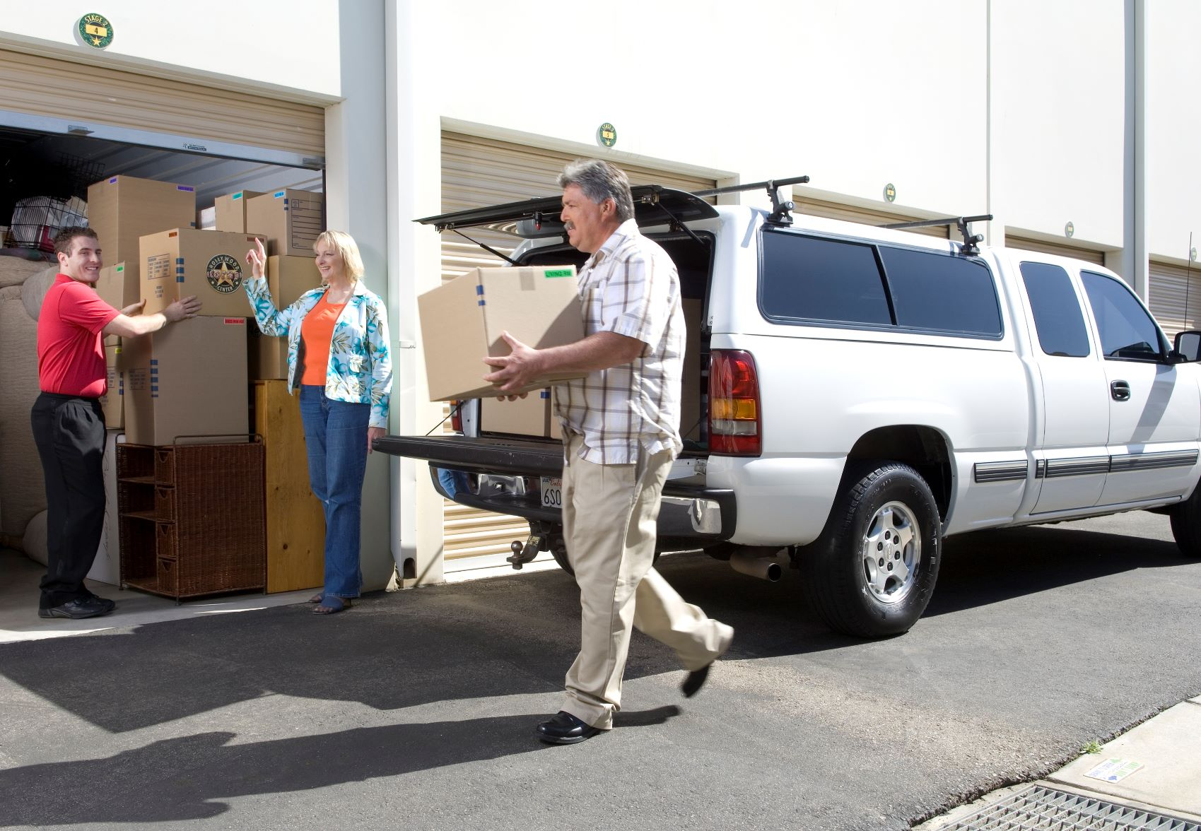 Guests at Hollywood Storage Center