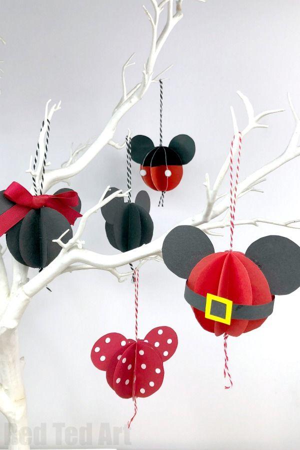 Disney-inspired ornaments