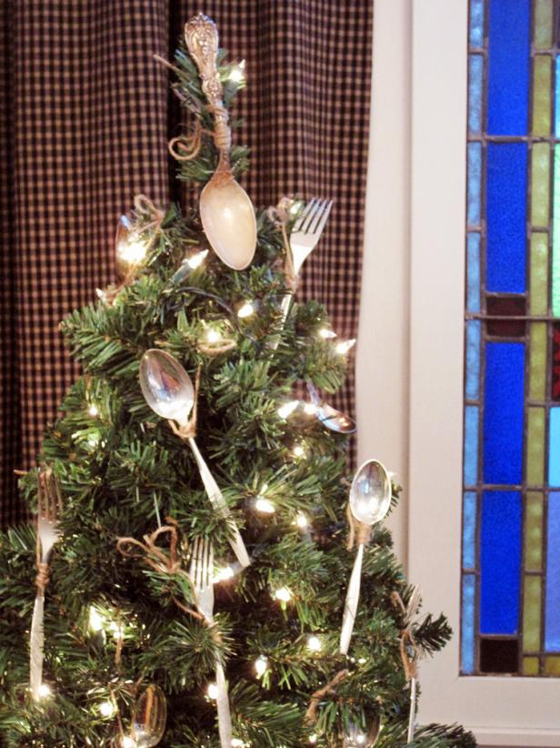 Utensils as ornaments