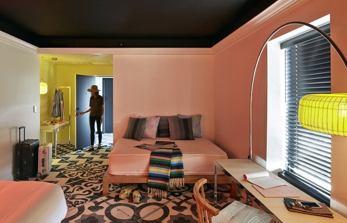 Funky Fresh Hollywood Hotel – Mama's Shelter
