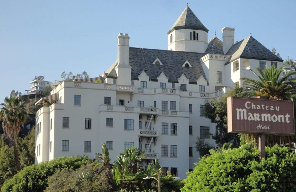 The Chateau Marmont in Hollywood, California