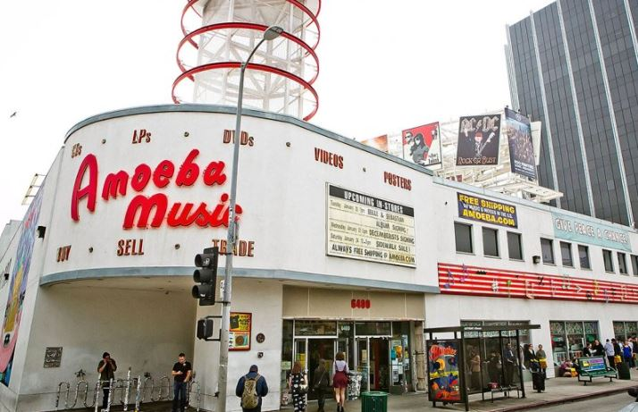 Amoeba Music - A Fun Family Activity