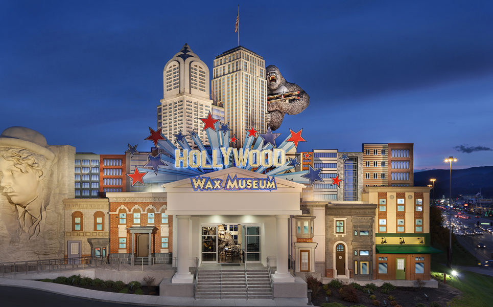 Hollywood Wax Museum Entertainment Center in Pigeon Forge