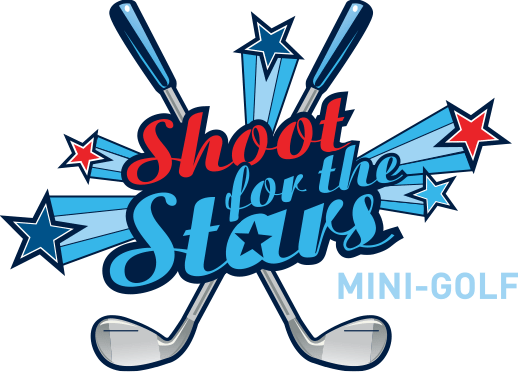 Shoot for the Stars Mini-Golf logo - A Branson, Missouri attraction