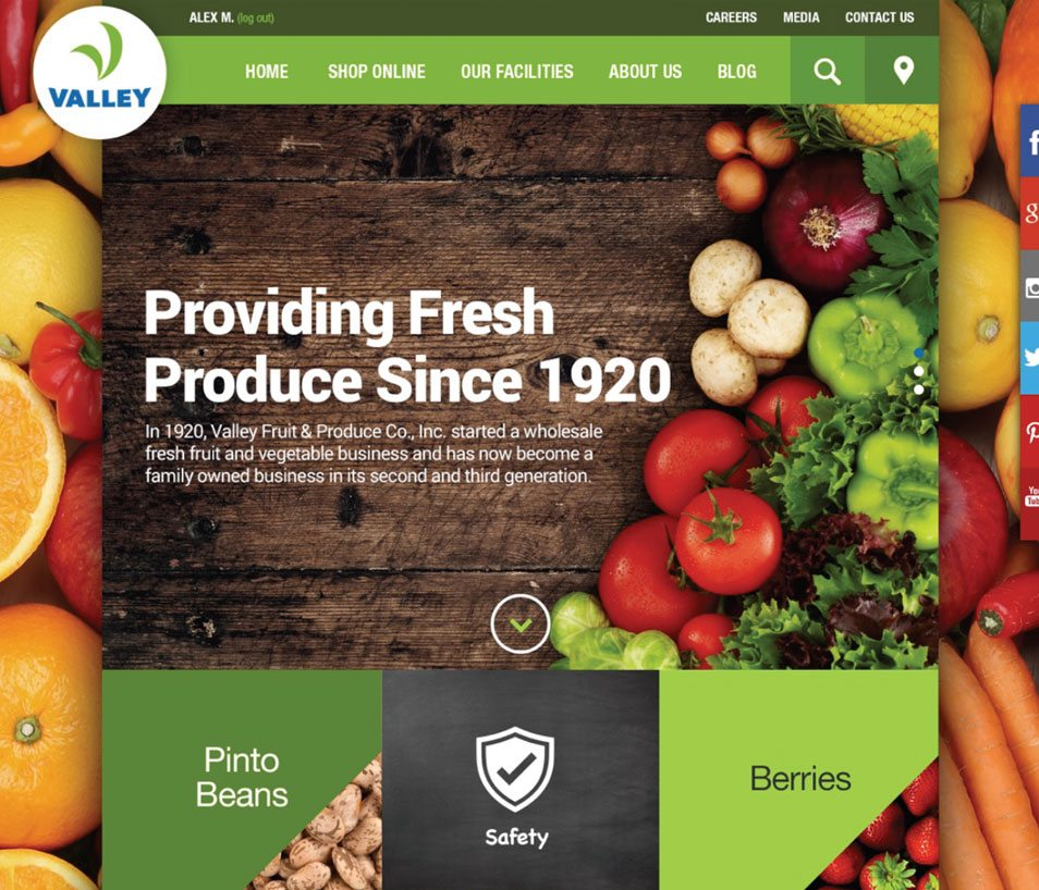 food-distributor-website