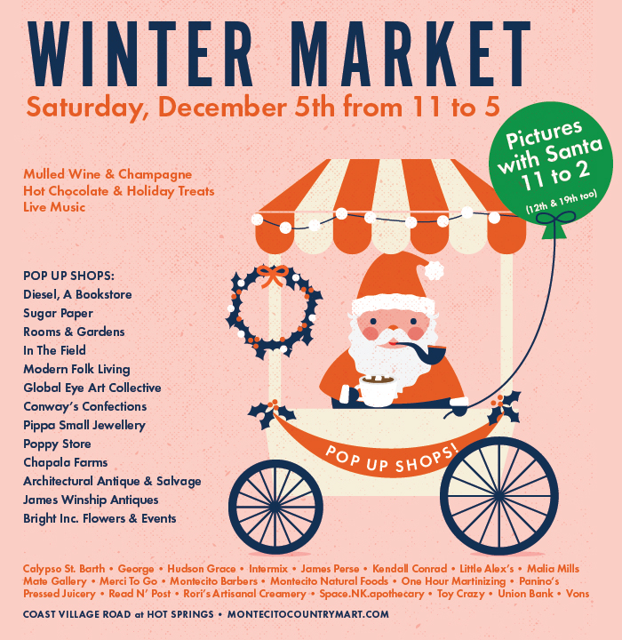 The Winter Market in Montecito