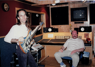 Derol Caraco & Tom McCauley - Recording