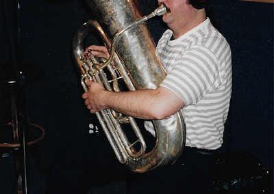 Engineer Tom McCauley - Tuba