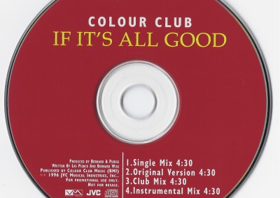 If it's all Good CD Single