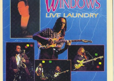 Live Laundry CD Cover